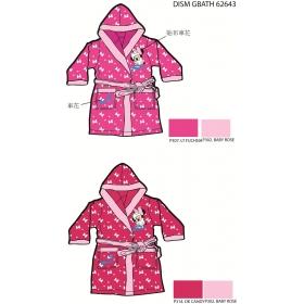 Minnie Mouse girls bathrobes