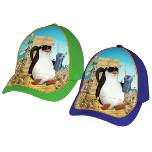 Penguins of Madagascar summer cap