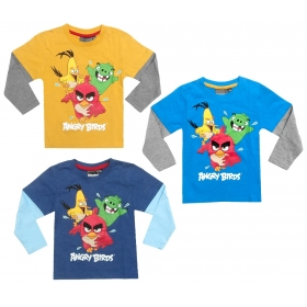 Angry Birds long sleeve t-shirt