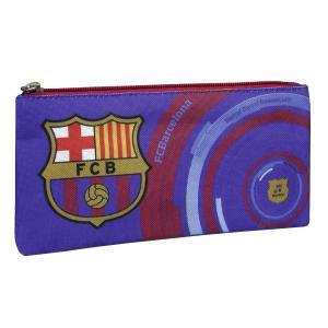 FC Barcelona Musical Flat Pencil Case