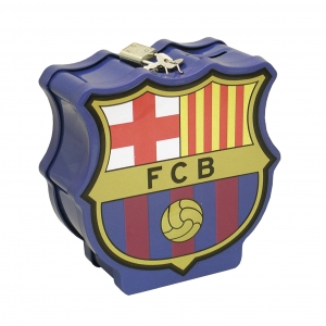 FC Barcelona Emblem Shaped Coin Bank