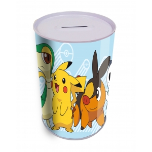 Pokemon  Cylindrical Coin Bank