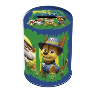 Paw Patrol Tin Coin Bank and Pencil Holder