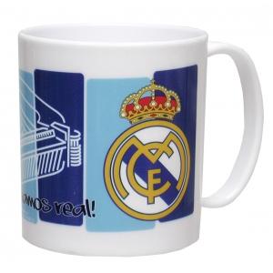 Real Madrid Microwave Plastic Mug