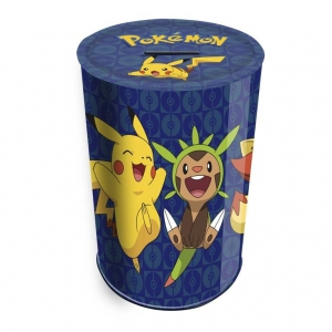 Pokemon Tin Pencil Holder and Coin Bank