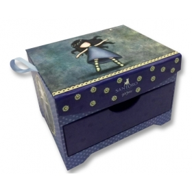 Santoro London Trunk Style Jewel Box-Tiptoes