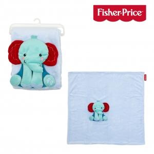 Fisher Price blanket elephant 80x80 cm