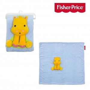 Fisher Price blanket giraffe 80x80 cm
