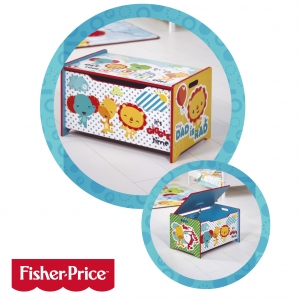 Fisher Price wooden toybox