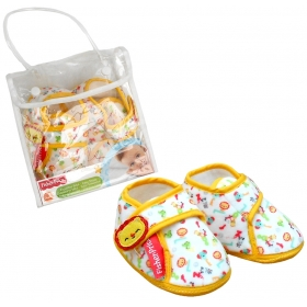 Fisher Price baby slippers – lion