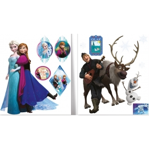 Frozen wall stickers – 2 sheets
