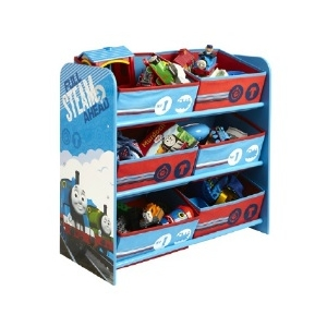 Thomas and Friends shelf with toy box