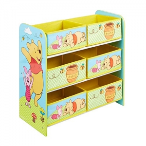 Winnie The Pooh shelf with toy box