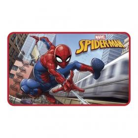 Spiderman fleece room carpet 45 x 75 cm