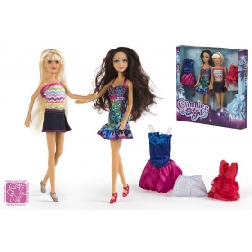 Dolls fashion 29 cm - 2 pcs