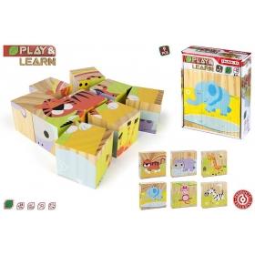Blocks / puzzle - 9 el.