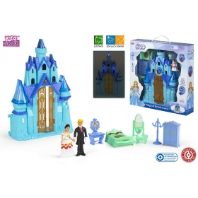 Castle with figurines - light, sound