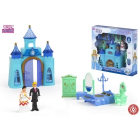 Castle with figurines
