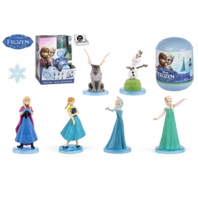 Frozen figurine in capsule