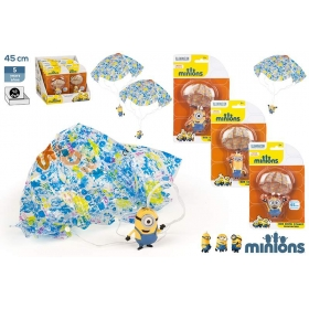 Minions figurines with parachute