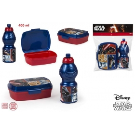 Star Wars lunch box + bottle 400 ml set