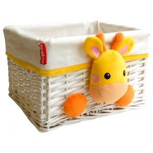 Fisher Price wicker basket 30x25x20 cm – giraffe