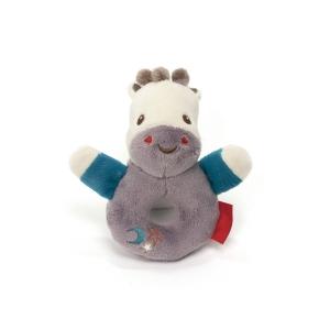 Fisher Price mascot with rattle – giraffe