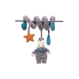 Fisher Price mascot with rattle on spiral – giraffe