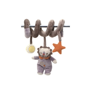 Fisher Price mascot with rattle on spiral – lion