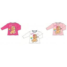 Lady and the Tramp long sleeve baby t-shirt