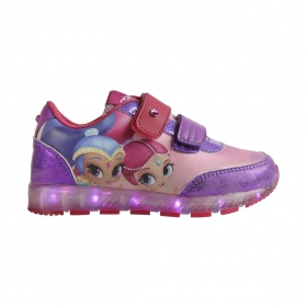 Shimmer and Shine sports shoes with LED lights