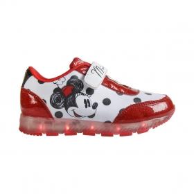 Myszka Minnie sports shoes with LED lights