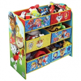 Cars shelf with toys box