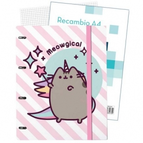 Pusheen the Cat binder