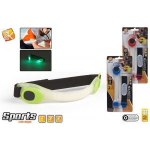 Blister led sports bracelet - batt inc