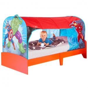 Avengers over bed tent