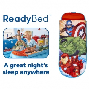 Avengers ReadyBed Airbed & Sleeping Bag
