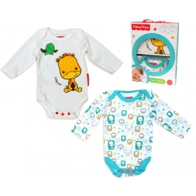 Fisher Price body with long sleeves 2 pack