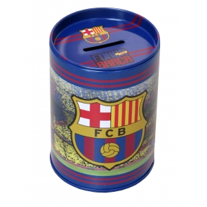 FC Barcelona metal coin box