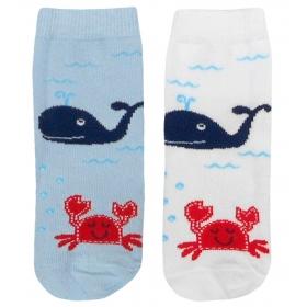 Sea baby socks