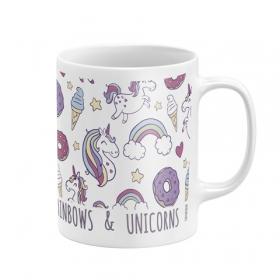 Zaska ceramic mug - unicorn
