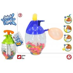 Pk water pump bottle + self sealing water balloons - Hurtownia Gatito