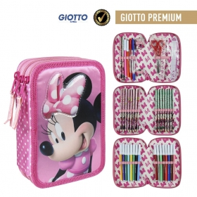 Minnie Mouse pencil case with accessories