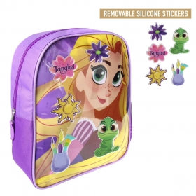 Tangled backpack with stickers 34 cm