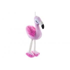Flamingo plush toy 17 cm