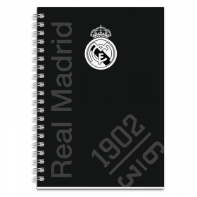 Real Madrid spiral notebook A5