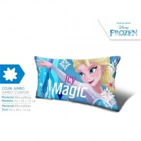 Frozen microfiber cushion