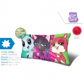 Littlest Pet Shop velour cushion
