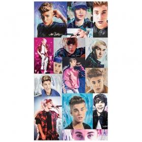 Justin Bieber jumbo wall stickersheet
