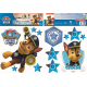 Paw Patrol wall sticker chase 2 sheets